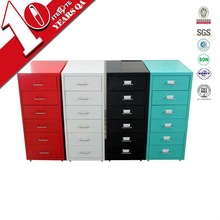 Alibaba china living room furniture different color movable drawer chest