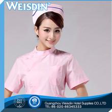 In-Stock Items women's/man's CVC nurse pink rose clothing