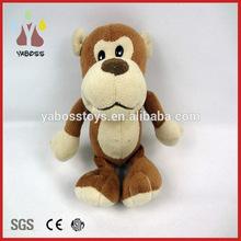 Custom super soft cute baby monkey