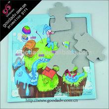 china factory production customize logo printing wholesale jigsaw puzzles
