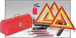 Roadside Emergency Kit/Triangle, 8 Piece- XI'AN Xian Wellwork