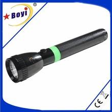 Green LED flashlight with durable housing, OEM available flashlight