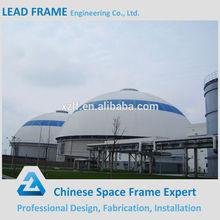 Steel structure construction space frame coal bulk storage
