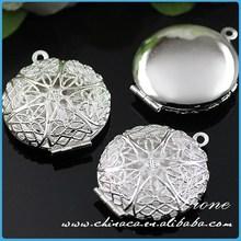 Silver Locket Valentine Holiday Gift For Her ,Engraved Brass Locket,Locket for Vintage Necklace
