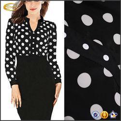 OEM 2015 wholesale Woman Casual Slim Elegant Party Vintage Polka Dot Print Dress