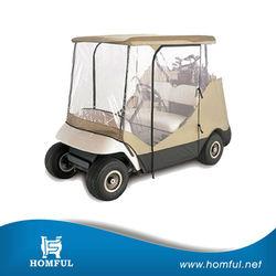 2 Passengers Golf Cart Storage Cover Fit Club Car Cart Green New