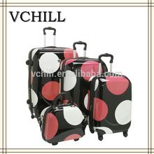 Hard Trendy Urban Polka Dot Luggage