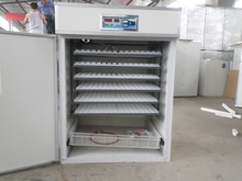 Middle industrial chicken/duck/quail/poultry egg incubator and hatcher/egg incubator for 2652 eggs