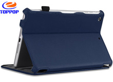 Stand Leather Flip Housing Case for iPad Mini with optional color