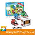 Brinde promocional 58 PCS Thomas e seus amigos trem de brinquedo do enigma 3D