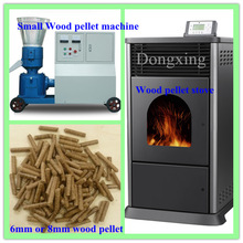 Fireplace and barbecue sawdust pellet making machine ZLSP-M 260 C from Dongxing brand