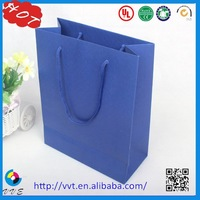 2015 Luxury Shopping Paper Bag , Gift Paper Bag, Paper Shopping Bag Factory Manufacturer