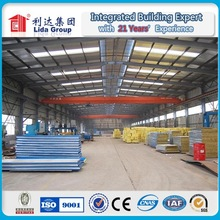 Sandwich Panel Steel Structure Workshop&Warehouse