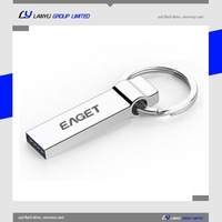 engraved customized usb memory stick cheap metal keychain pen drive
