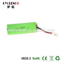 Ni-mh AAA 900mah7.2Vrechangeable battery for cell cap lamp e-cigarette battey