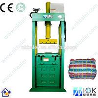 Second-hand clothing compactor machine,Hydraulic wool press machine,baler press machine