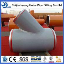 ASTM A234 WPB steel oil &gas used pipe line steel tee