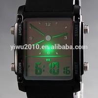 Men's Watch Sports LED Analog-Digital Display Multi-Function