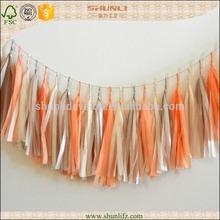 Mixture colors new design decoration fringe String Garland