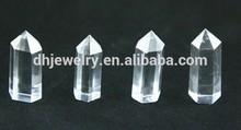Natural crystal Natural Rock white and Smoky Crystal Quartz Point / Column crystal columns