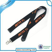Trade Assurance satin ribbon lanyard from china market from manufacturer