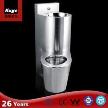 Chinese top sale combination inox water closet dealer