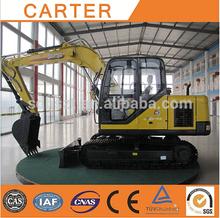 Caldo di vendita ct85-8b( 8.2t) idraulico cingolato escavatore terne