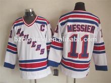2015 New Mark Messier #11 New York Rangers Ice Hockey Jersey