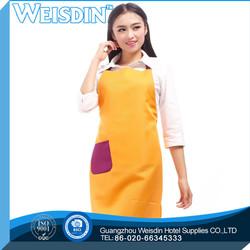 cheap price women's/man's advertising modern folded non woven kitchen apron