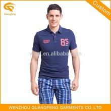 Men's Short Sleeve Polo T-Shirt, Embroidered Logo Polo Shirt, Popular Polo-Shirt