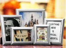 Aluminum photo frames for desktop display home decor