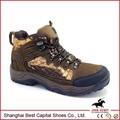 Folha Camouflage água tênis para caminhada prova / segurança botas caminhante
