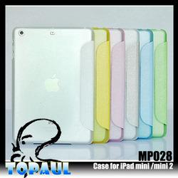 Custom tablet pu case cover for ipad mini 3