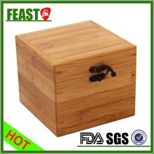 Customized gift bamboo wood box Antique gift bamboo wood box