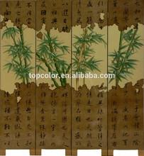 modern chinese wood carving cheap door folding screen