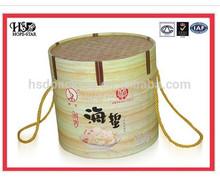 2015 High Quality New Design handmade wooden tea box