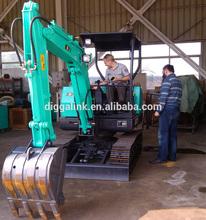 Construction Machinery Track Small Hydraulic Crawler Excavator