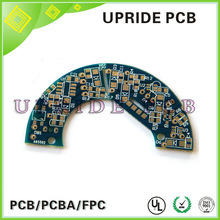 OEM/ODM single layer blank pcb with bule soldermask