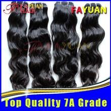 Natural Indian 100% Virgin Human Hair, 100% virgin hair bundles with lace closure