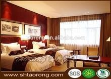 5 star hotel commercial bedroom furniture set solid wood bedroom furniture HS-093