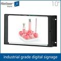 10 polegadas frameless advertisisng led tv, alta qualidade digital signage totem, cosméticos publicidade player de vídeo