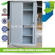 Tambour door steel cabinet/ roller shutter door steel cabinet /lockable steel cabinet