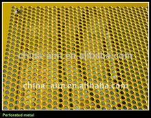 hebei anping decorative hexagonal perforated wire mesh