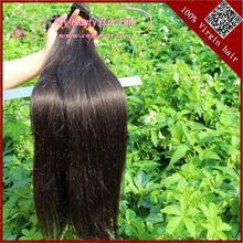 5a high quality 100% human hair silky yaki perm weave