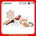 los niños instrumento musical de percusión conjunto para los niños