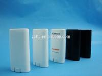 15ml oval white lip balm tube, big opaque white lip balm tube container