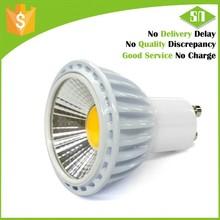 130v 220v 240v dimmable 5w cob gu10 led bulb 550 lumen