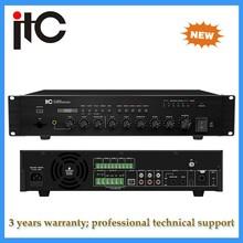 5 Zone USB power echo karaoke mixer amplifier