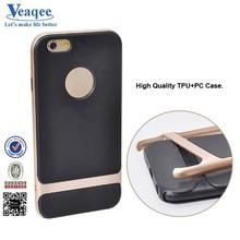 Veaqee new design tpu+pc hard imd custom print case for iphone 6
