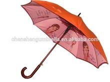 umbrella inside print,brand name umbrella,walking stick umbrella